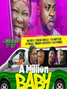 A Million Baby Poster