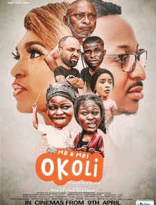 Mr. And Mrs. Okoli Poster